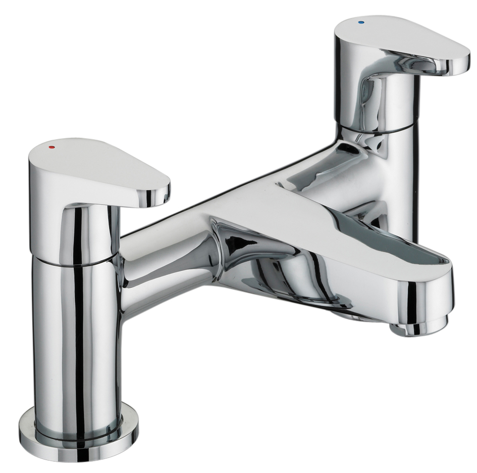 BRISTAN QUEST BATH FILLER CHROME PLATED - QST BF C