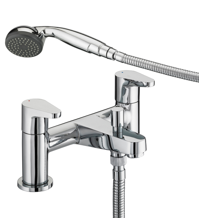 BRISTAN QUEST BATH SHOWER MIXER CHROME PLATED - QST BSM C