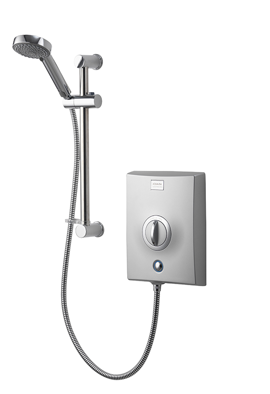 Aqualisa Quartz Electric Shower 10.5kw - Chrome