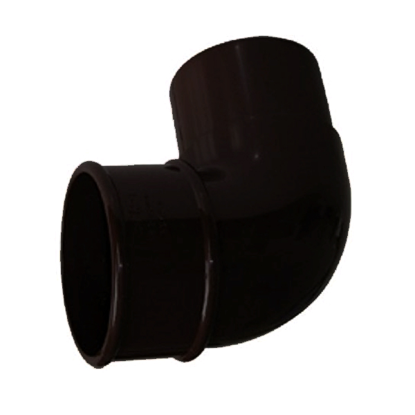 FLOPLAST RBM1BL MINIFLO 50MM DOWNPIPE - 92.5 DEGREE OFFSET BEND - BLACK