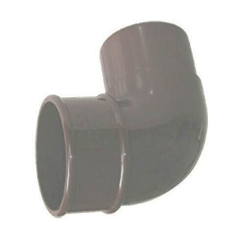 FLOPLAST RBM1GR MINIFLO 50MM DOWNPIPE - 92.5 DEGREE OFFSET BEND - GREY