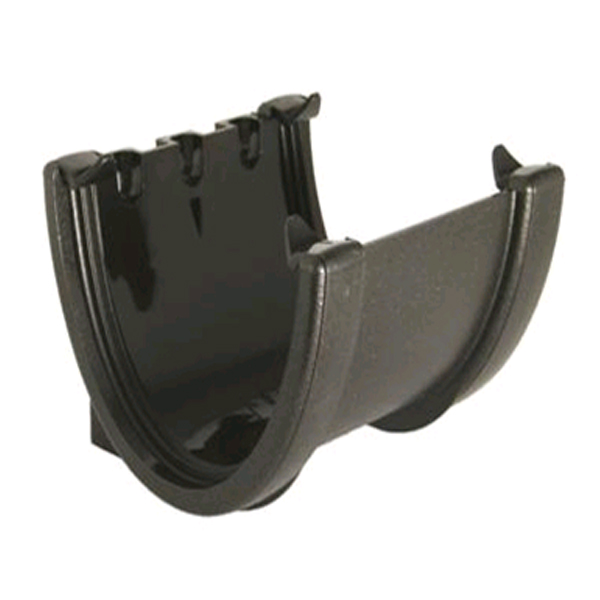 FLOPLAST RUH1CI HI-CAP (DEEPFLOW) GUTTER - UNION BRACKET - FAUX CAST IRON