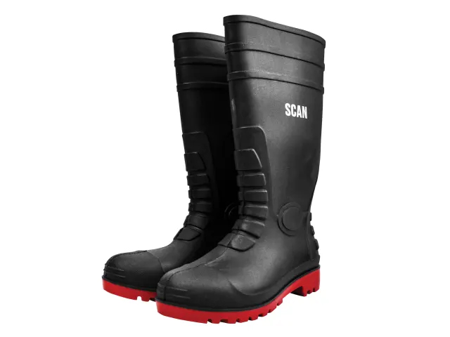 SCAN SAFETY WELLINGTONS UK 9 EURO 43