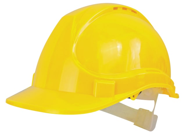 Scan Safety Helmet Adj From 530mm to 630mm - Yellow