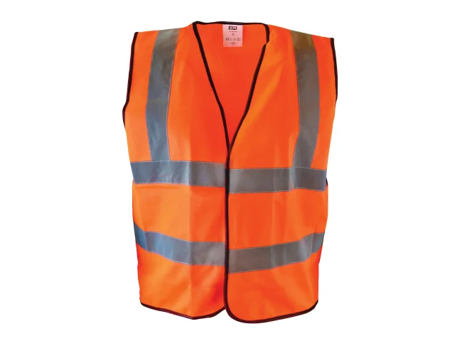 Scan Hi-Visibility Waistcoat Orange - Extra Large (XL)