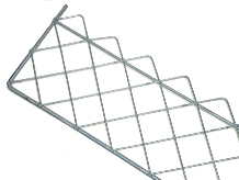 GALVANISED TILE / SNOW GUARD 2 METRE X 9""