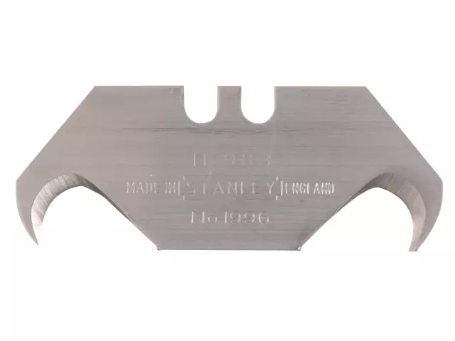 STANLEY 1996B HOOKED KNIFE BLADES PACK OF 5 0-11-983