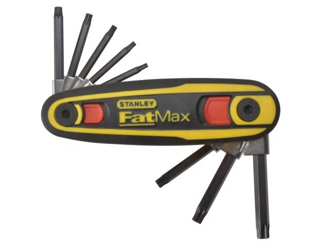 STANLEY FATMAX TORX KEY LOCKING SET OF 8 (TX9-TX40) - 0-97-553