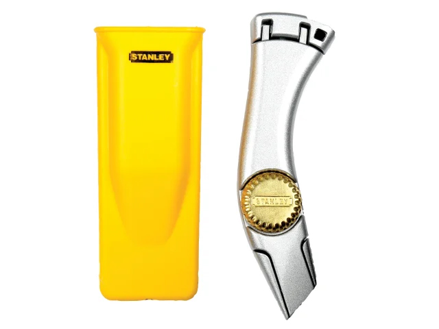 STANLEY TITAN FIXED BLADE TRIMMING KNIFE & HOLSTER 1-10-550