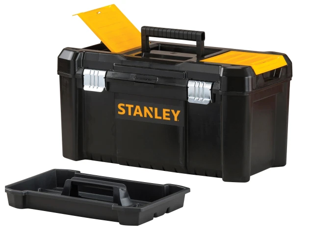 Stanley Basic Toolbox With Organiser Top 50cm (19In) - STST1-75521