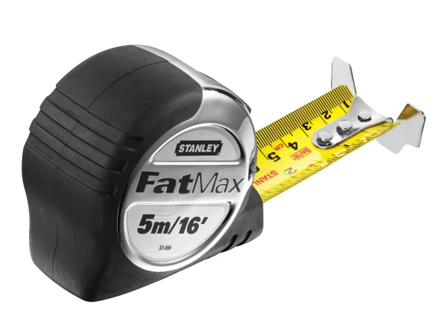 Stanley Fatmax Pro Pocket Tape Measure 5M / 16Ft 32mm Wide - 5-33-886