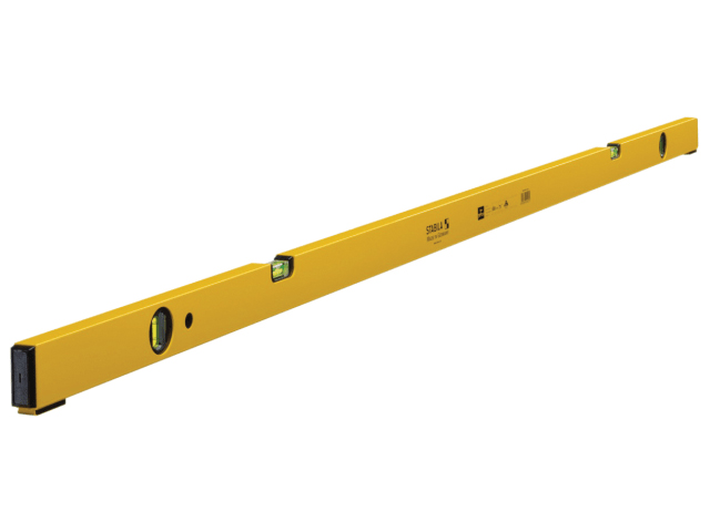 STANLEY 70P-2 DOUBLE PLUMB 4 VIAL SPIRIT LEVEL 02421 180CM