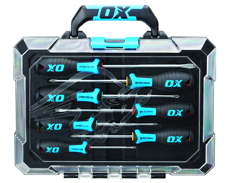 OX PRO 7 PIECE SCREWDRIVER SET
