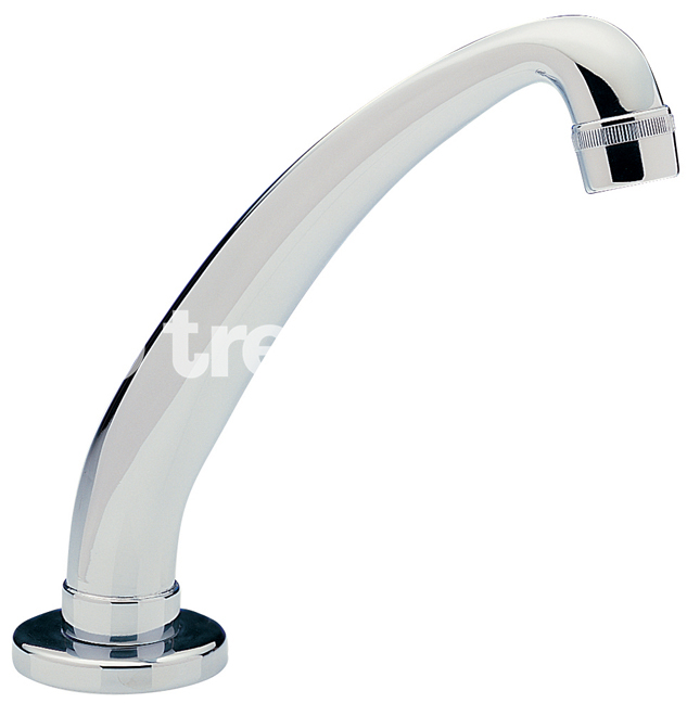 TRE MERCATI CAPRI NON CONCUSSIVE CAST SWIVEL SPOUT - CHROME PLATED