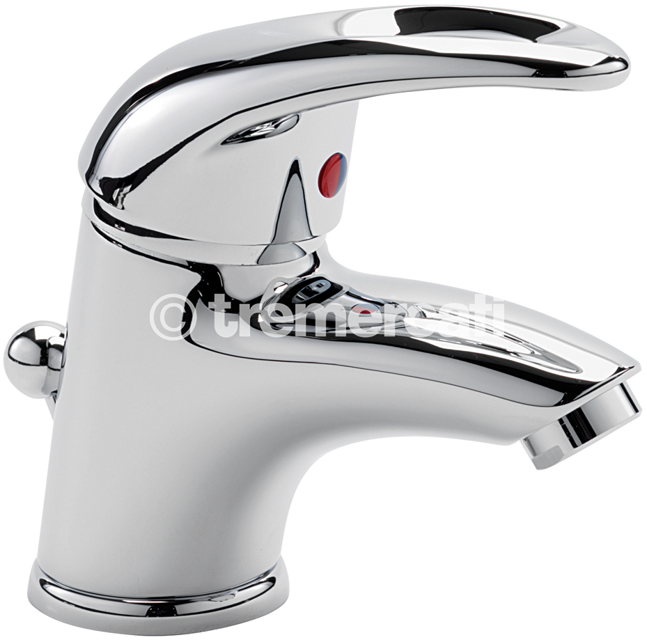 TRE MERCATI LATINA MINI MONO BASIN MIXER WITH POP UP WASTE CHROME PLATED