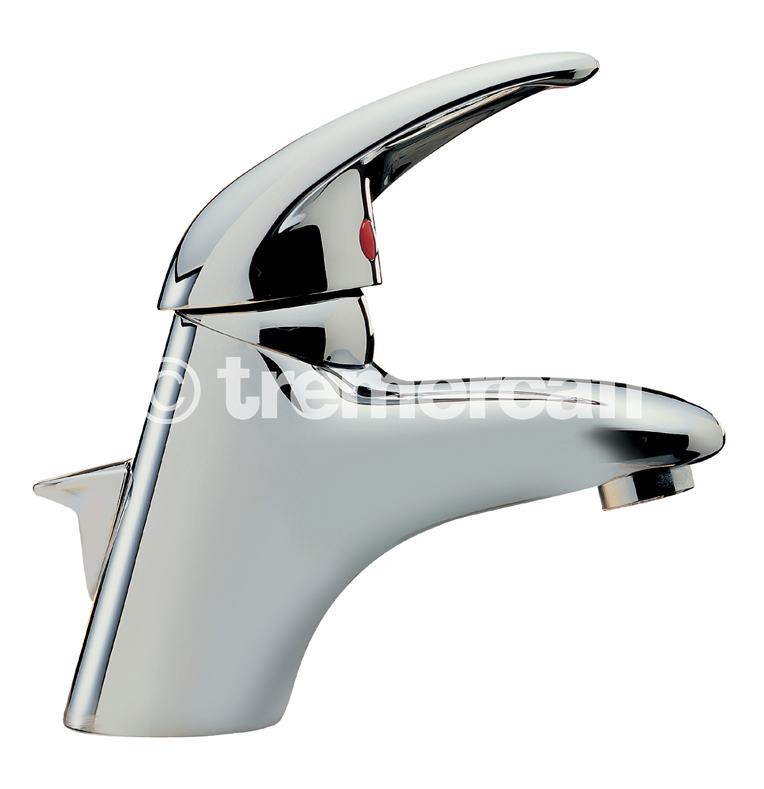 TRE MERCATI LATINA MONO BASIN MIXER WITH POP UP WASTE CHROME PLATED