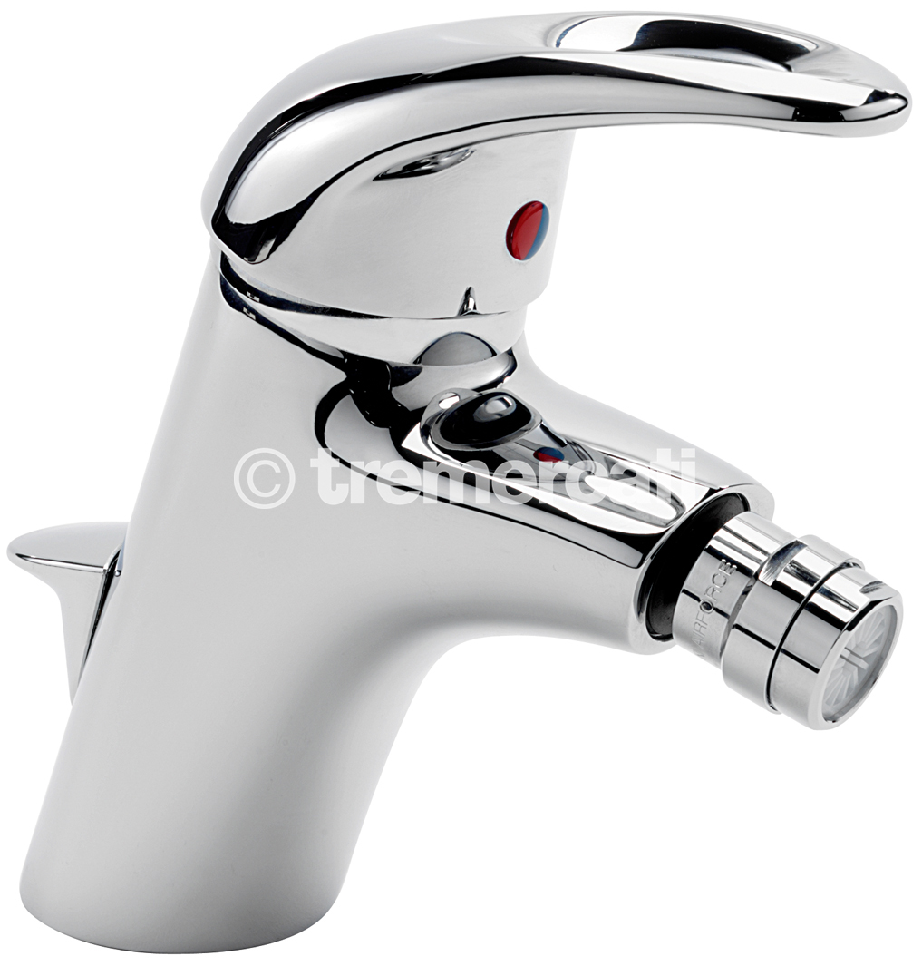 TRE MERCATI LATINA MONO BIDET MIXER WITH POP UP WASTE CHROME PLATED