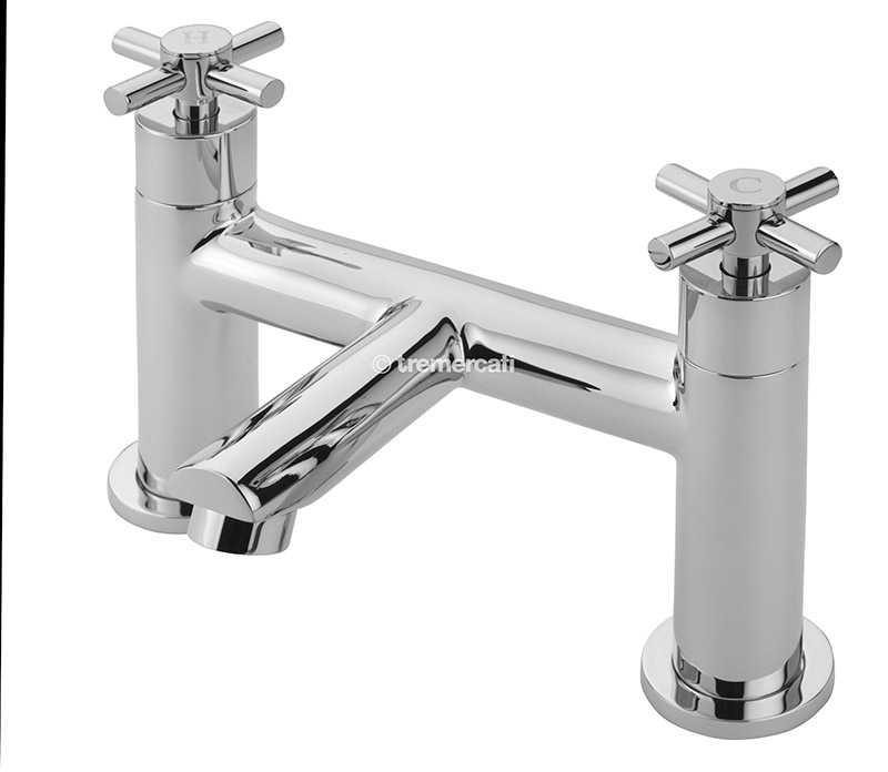 TRE MERCATI ERIN PILLAR BATH FILLER CHROME PLATED