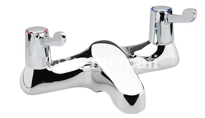 TRE MERCATI CAPRI LEVER DECK BATH FILLER - CERAMIC DISC VALVES - 3