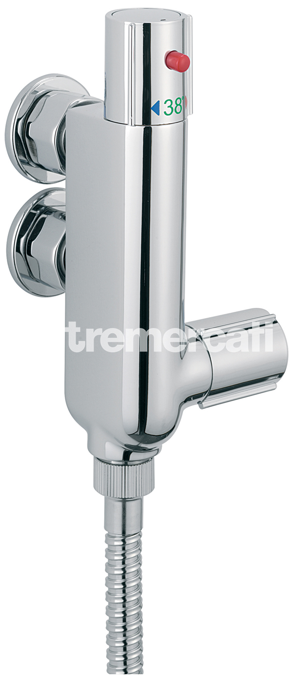 TRE MERCATI VERTICAL THERMOSTATIC SHOWER ( VALVE ONLY ) CHROME PLATED