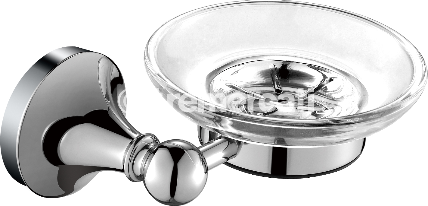 TRE MERCATI IMPERIAL WALL MOUNTED SOAP DISH - CHROME PLATED