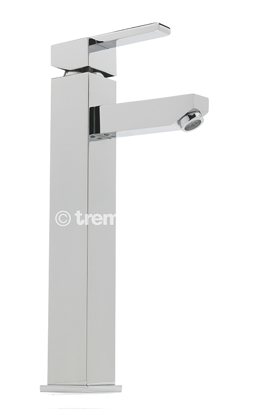 TRE MERCATI VESPA EXTENDED MONO BASIN MIXER - CHROME PLATED