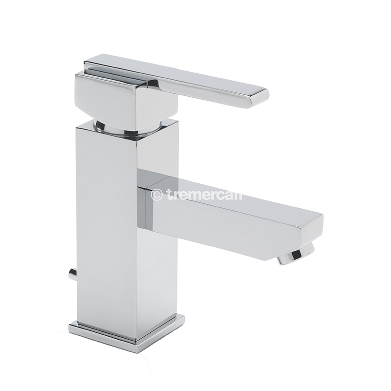 TRE MERCATI VESPA MONO BASIN MIXER WITH POP-UP WASTE - CHROME PLATED