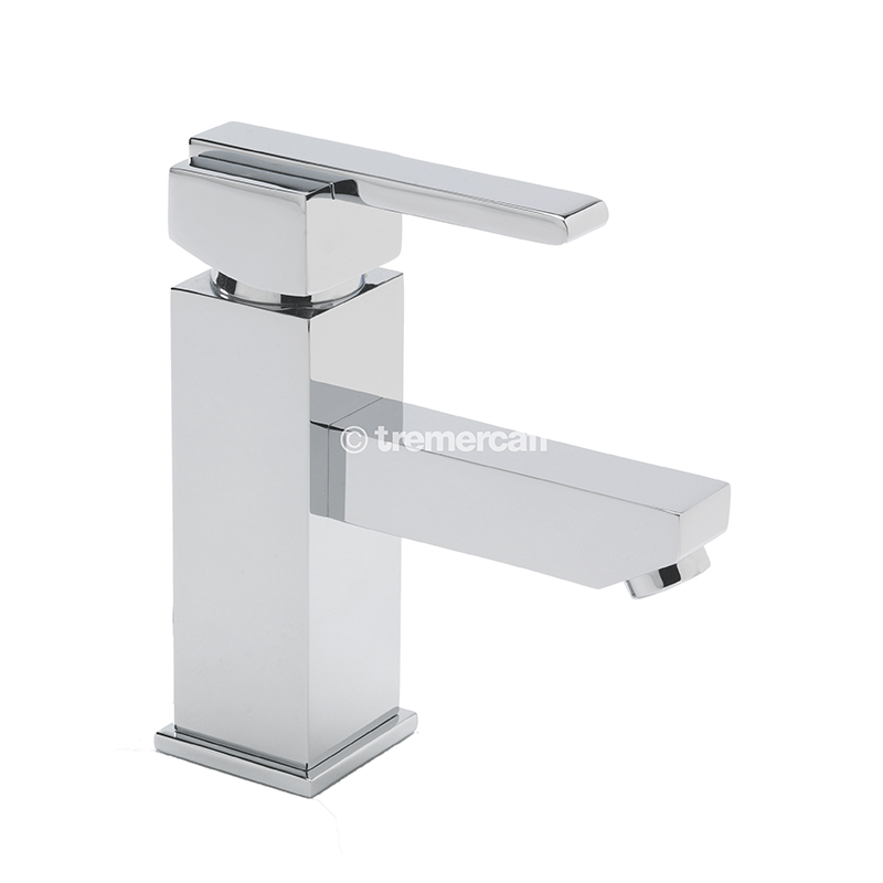 TRE MERCATI VESPA MONO BASIN MIXER WITH CLICK CLACK WASTE - CHROME PLATED