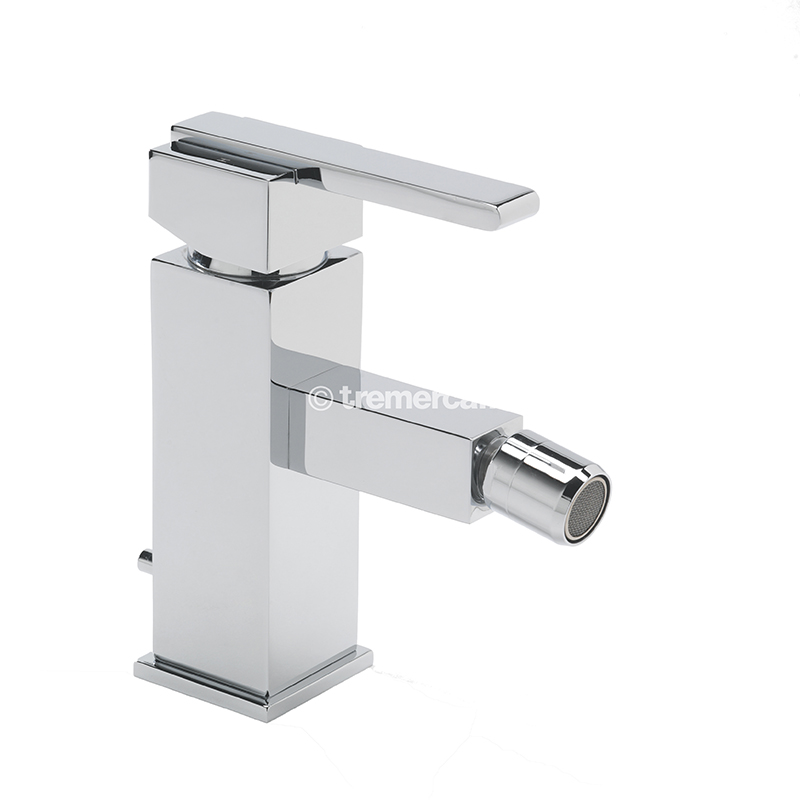 TRE MERCATI VESPA MONO BIDET MIXER WITH CLICK CLACK WASTE - CHROME PLATED