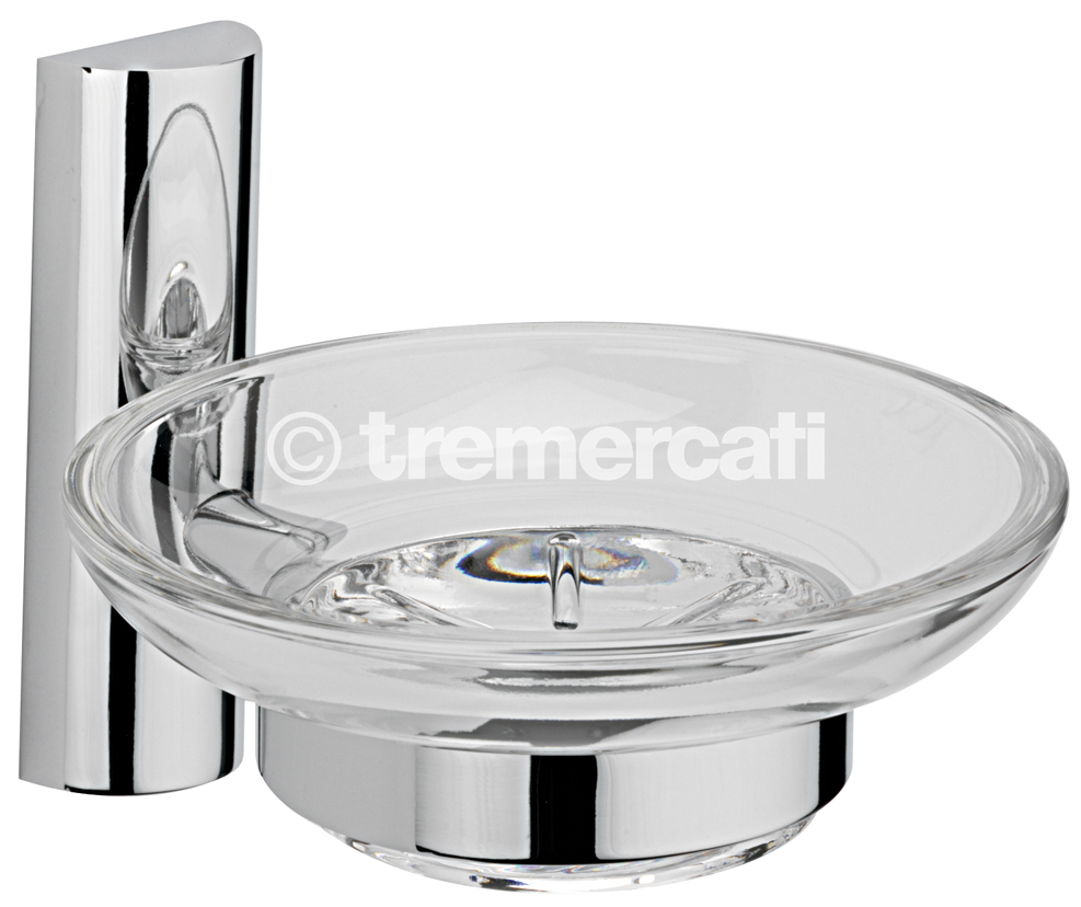 TRE MERCATI TWIGGY WALL MOUNTED SOAP HOLDER - CHROME PLATED