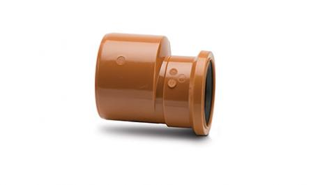 Polypipe Underground 110mm / 4In Reducer to 82mm / 3In