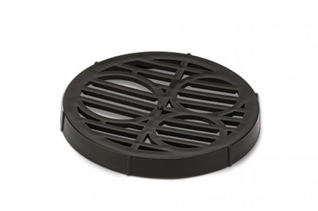 Polypipe Underground 110mm / 4In Spare Round Grid for Bottle Gully