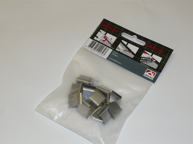 UBIFLEX FLASHING FIXING CLIPS (BAG OF 25)