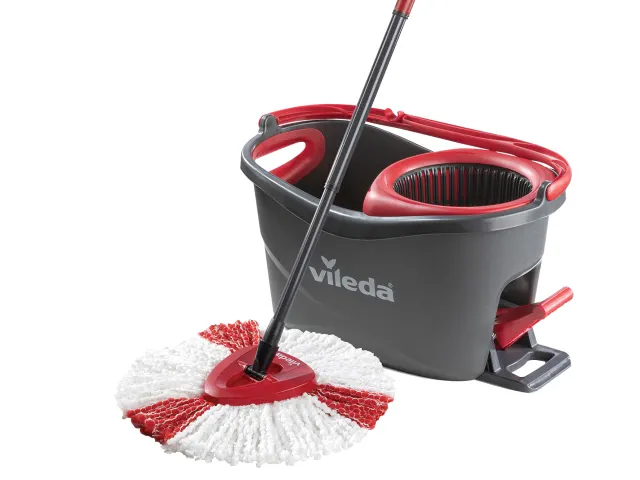 VILEDA TURBO SPIN MOP AND BUCKET KIT - 155675