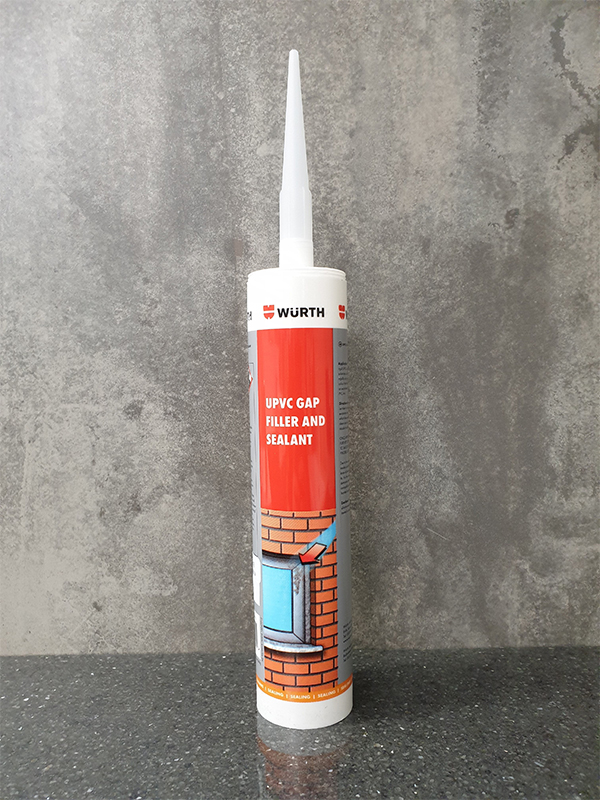Wurth UPVC Gap Filler & Joint Sealant 300gm - White