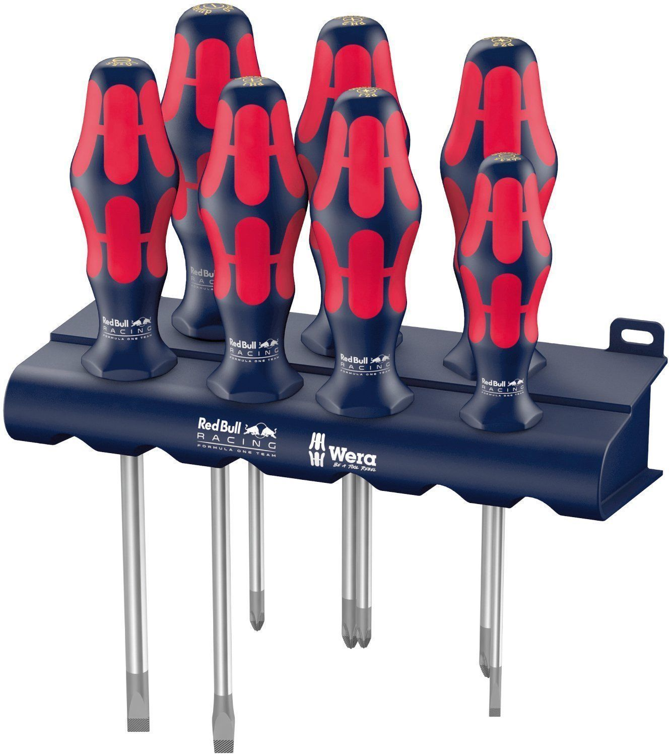 WERA KRAFTFORM COMFORT SCREWDRIVER SET OF 7 - RED BULL RACING