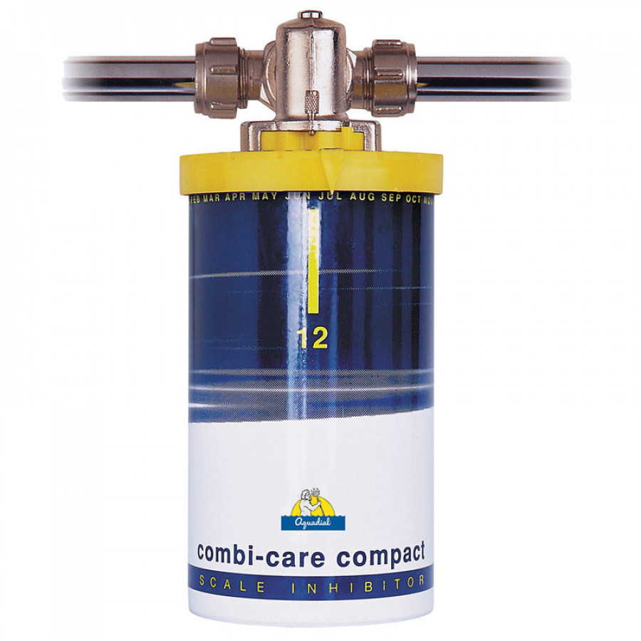 BWT Aquadial Combi Care Scale Inhibitor 15mm - Protection against Limescale and Corrosion