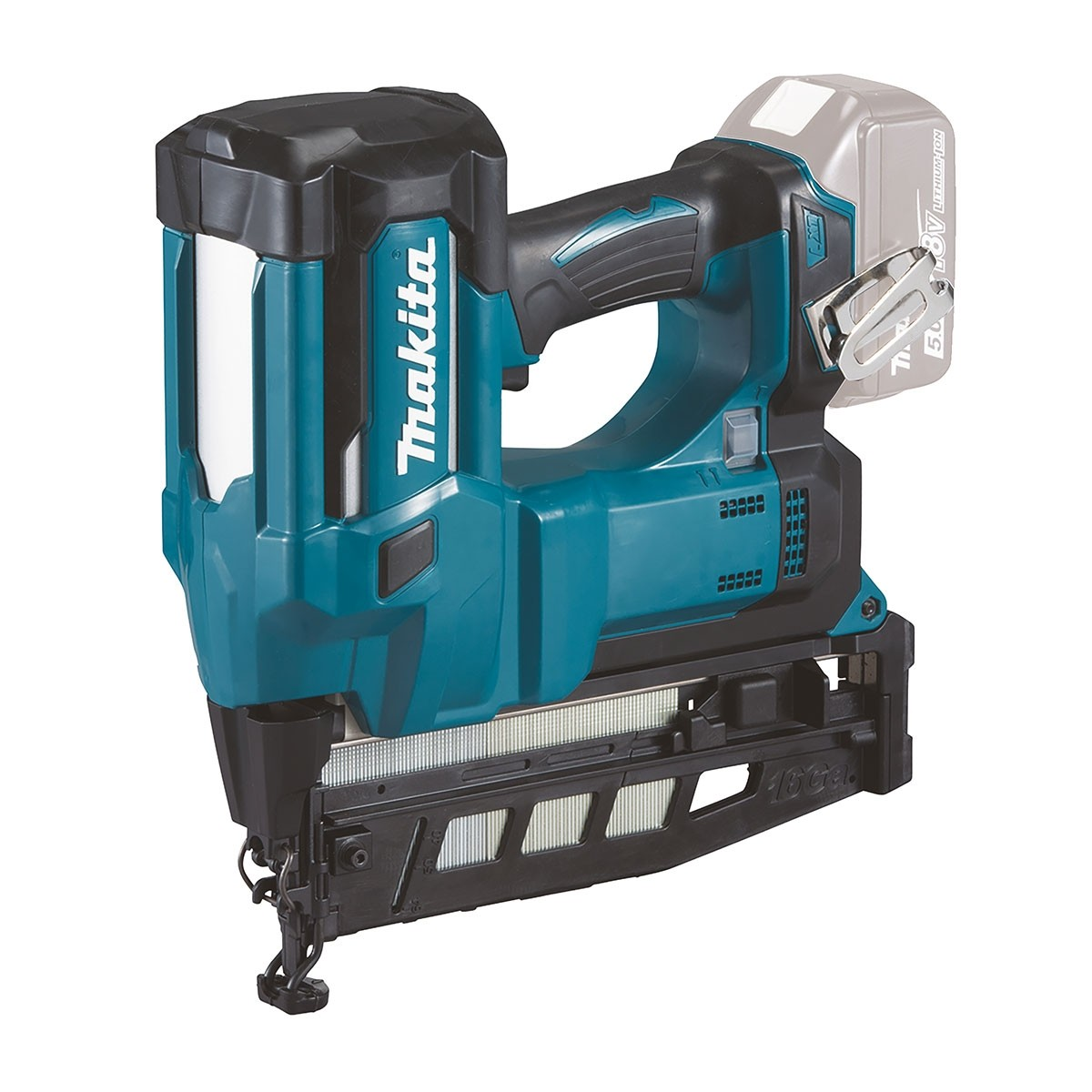 MAKITA 18V BRUSHLESS 16G 2ND FIX FINISH NAILER - DBN600 - BODY ONLY