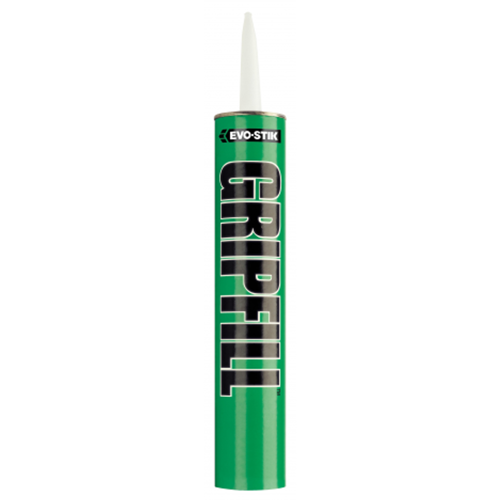 EVO-STIK GRIPFILL GAP FILLING ADHESIVE C30 350ml (GREEN)